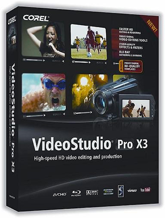 Corel Video Studio Pro X3 15.0.0.498 / RUS / 2011