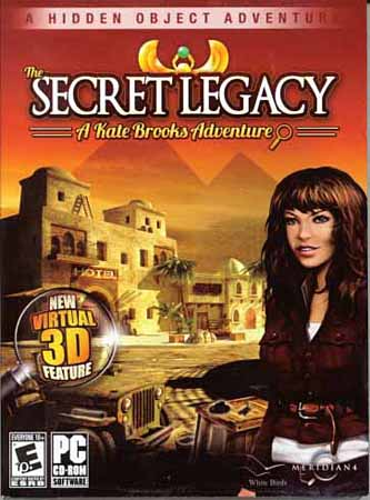Secret Legacy: A Kate Brooks Adventure (PC/2011/RU)
