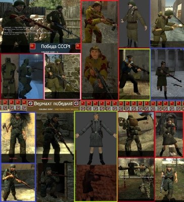 Day of Defeat: Source - Soviet & German Pack (2011/ PC/RUS/Mod)