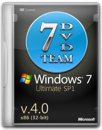 Windows 7 Ultimate SP1 32-bit by 7DVD 4.0 Rus (2011)