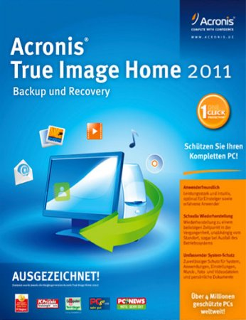 Acronis True Image Home 2011 14.0.0 Build 6868 UnaTTended Silent install