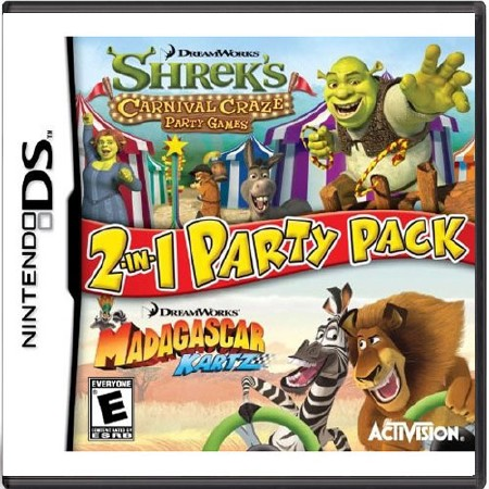 Dreamworks 2-in-1 Party Pack (ENG/USA/2010/NDS)