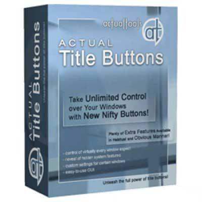 Actual Title Buttons 6.7