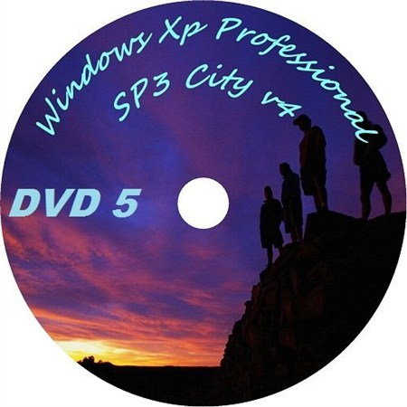 Windows Xp professional SP3 City v4 v4 (русский)