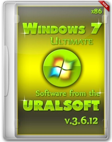 Windows 7x86 Ultimate UralSOFT v.3.6.12