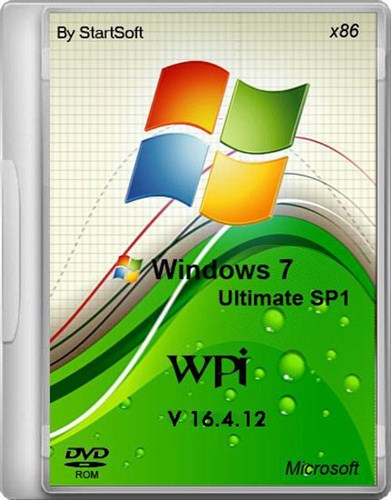 Windows 7 Ultimate SP1 x32 x64 By StartSoft v 16.4.12 (Русский)