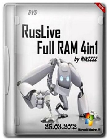 RusLiveFull RAM 4in1 by NIKZZZZ DVD (25.03.2012)