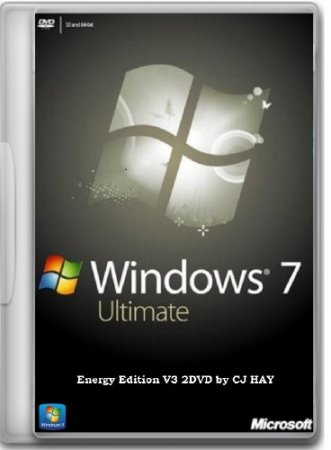 Windows 7 SP1 Ultimate Energy Edition V3 2DVD by CJ HAY