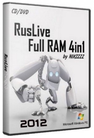 RusLiveFull RAM 4in1 by NIKZZZZ CD/DVD (01.04.2012)