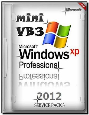Windows XP SP3 mini VB3 в образе (Acron tib) (2012/Rus)
