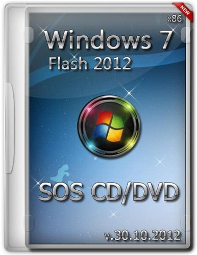 Windows 7 PE SOS CD/DVD & Flash 2012 (х86/RUS)