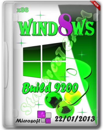 Windows 8 Build 9200 x86 (RU/EN/DE) 22/01/2013 © StaforceTEAM