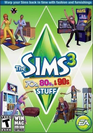 The Sims 3 70s 80s and 90s Stuff ( 2013 /RUS/ENG/MULTI) FLT
