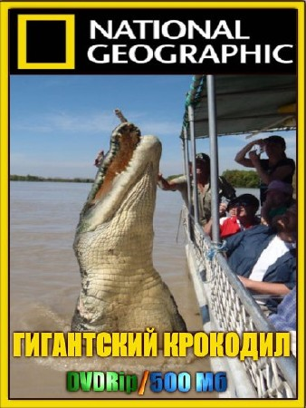 National Geographic. Гигантский крокодил / National Geographic. SuperCroc (2001) DVDRip