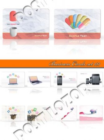 Business Cards set 181
