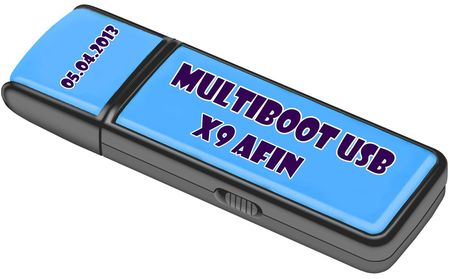 MultiBoot USB X9 afin (2013/RUS/ENG)
