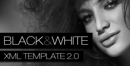 ActiveDen - Black & White XML Deeplinking Template 2.0