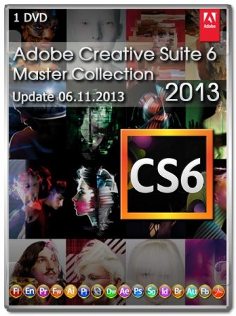 Adobe CS6 Master Collection Update 06.11.2013 (RUS/ENG)