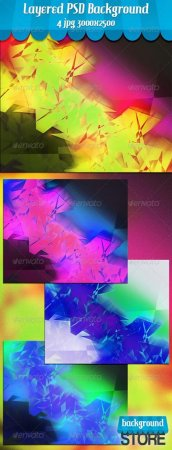 PSD - Funky Abstract Background