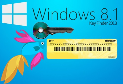 product key finder windows 8.1