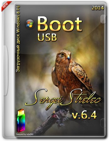 Boot USB Sergei Strelec Windows 8 PE v.6.4 (2014/x86/x64)