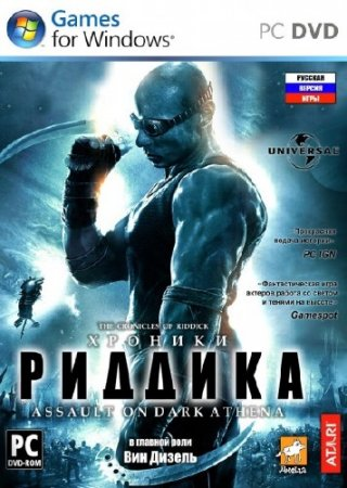 The Chronicles of Riddick - Assault on Dark Athena *Upd.30.07.2014* (2009/RUS/ENG/RePack by R.G. Механики)