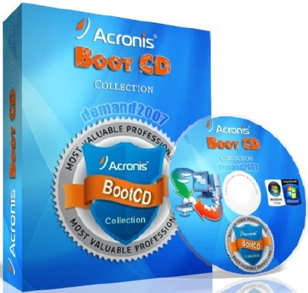 Acronis Boot CD/USB Sergei Strelec x64 (04.11.2014)