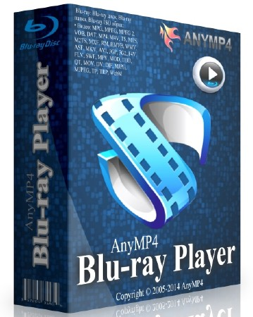 AnyMP4 Blu-ray Player 6.0.78.32636 + Rus