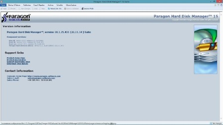 Paragon Hard Disk Manager 15 Suite 10.1.25.431 + BootCD / Recovery Boot Medias