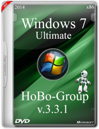 Windows 7 Ultimate SP1 by HoBo-Group v.3.3.1 (x86/RUS/2014)