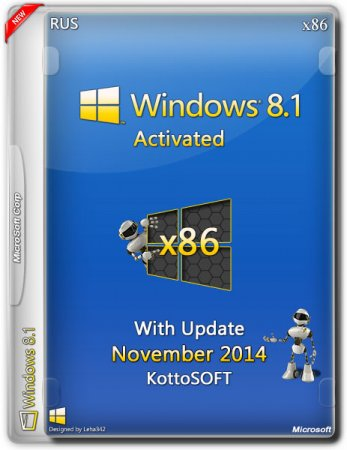 Windows 8.1 Professional x86 KottoSOFT v.20.11 (2014/RUS)