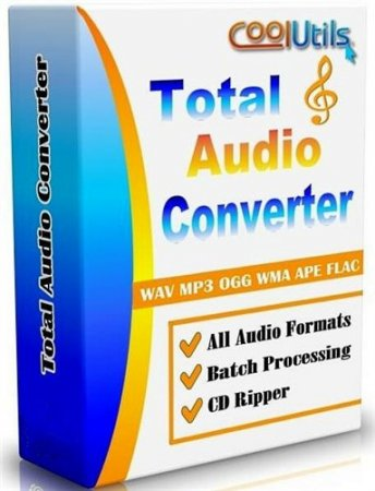 CoolUtils Total Audio Converter 5.2.0.105 (2014/Rus/Eng) RePack by KpoJIuK