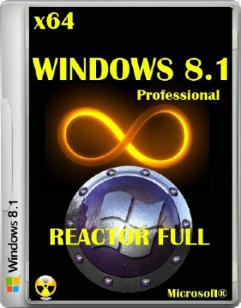 Windows 8.1 Professional by Reactor 2015 6.3.9600.17476 (x64/2014/RUS)