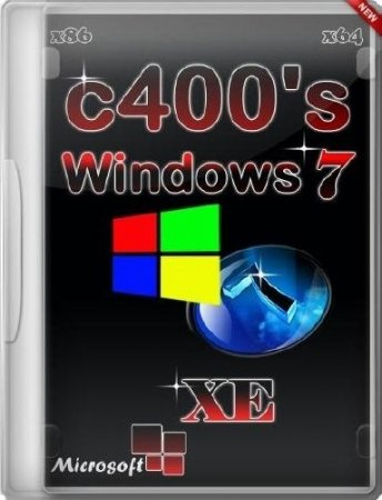 C400's Windows 7 XE Enterprise v.4.3.3 (x86/x64/2015/RUS/ENG)