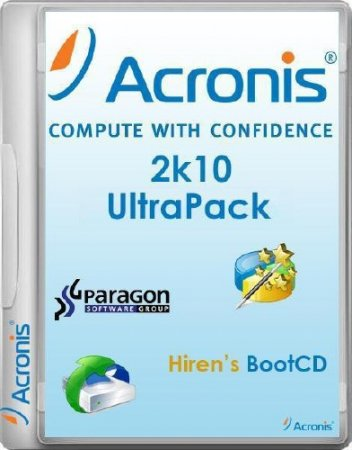 Acronis 2k10 UltraPack CD/USB/HDD 5.9.7 (2015/RUS/ENG)