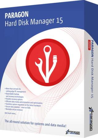 Paragon Hard Disk Manager 15 Premium/Professional 10.1.25.1137 RePack by D!akov