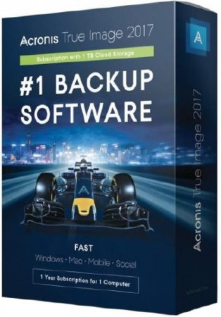 Acronis True Image 2017 20 Build 8058 RePack by KpoJIuK + BootCD